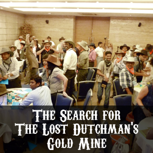 business simulation the search for the lost dutchman gold mine